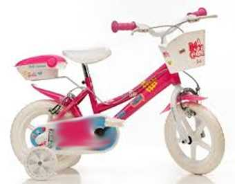 Dinobikes 126 Rl Bicicletta Serie 26 Girl Con Ruota Diametro 12 Eva