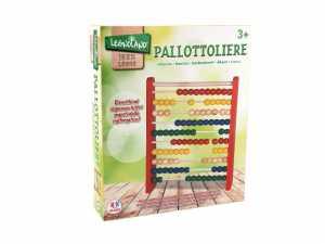 Globo- Pallottoliere, Multicolore, GLO1096