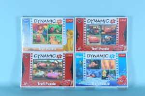Puzzle 3D Dinamyc Disney A4 Assortito GLOBO Giocattoli