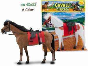 GIOCO CAVALLO FLOCCATO CM.30 03805