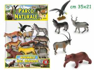 Teorema Giocattoli VD71004 Geo Nature Animali Del Parco Naturale, Multicolore, Taglia Unica