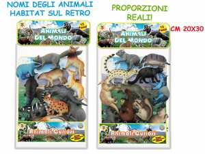 ANIMALE SELVATICO 12pz 72210