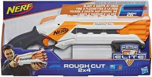 Nerf Elite - Rough Cut 2x4 (blaster Con Dardi)