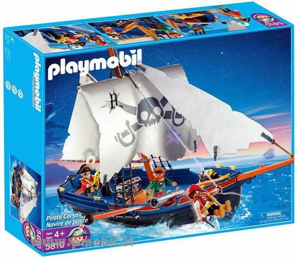 Playmobil 5810 - Barca Dei Corsari