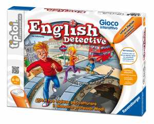 Ravensburger Tiptoi 00569 - Gioco English Detective