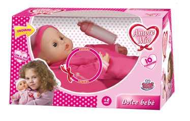 Grandi Giochi Amore Mio Dolce Bebè, Giocattolo, Multicolore (Rosa/Bianco)