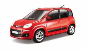 Bburago 18-22123 - Fiat Nuova Panda 2012 Bijoux 1:24