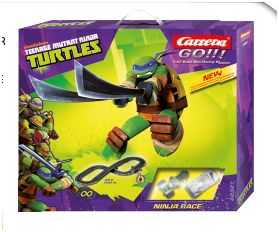 Mac Due Carrera 623279 - Pista Elettrica Ninja Turtles Race