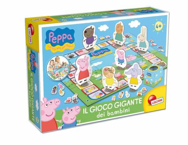 Liscianigiochi 42920 - Peppa Pig Il Gioco Gigante
