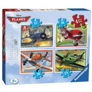 Ravensburger 07335 1 - Planes Puzzle, 4 In A Box