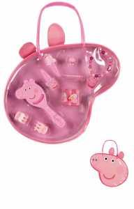Peppa Pig - Settembre Accessori Borsa E Dei Capelli, 31 X 23 Cm (Cerda 2504-199)
