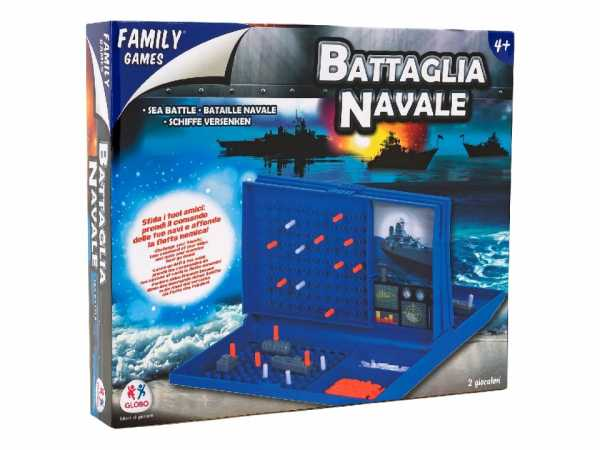 GIOCO BATTAGLIA NAVALE - Globo (36627)