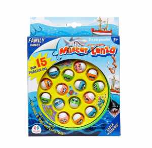 Viscio Trading 157897 - Gioco Pesca Con 15 Pesci