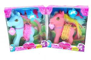 Pony/Unicorno C/Criniera Petti