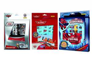 STICKERS CARS PLANES SPIDERMAN - Globo (07187)