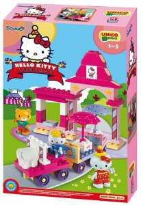Unicoplus 8689-00HK - Trenino Hello Kitty Fun Park