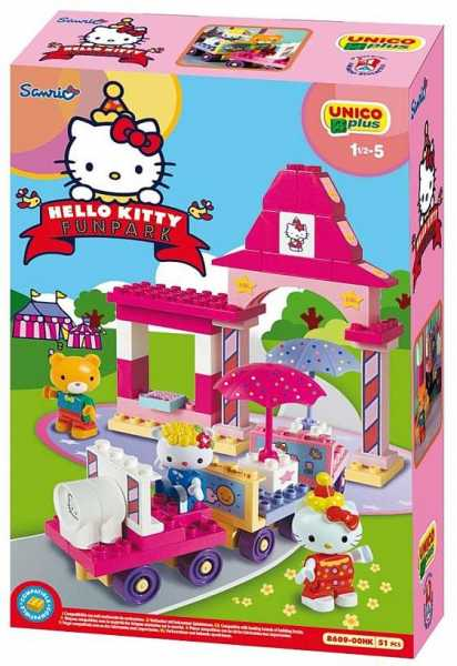 Unicoplus 8689-00HK - Trenino Hello Kitty Fun Park
