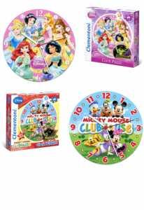 Clementoni- Clock Puzzle-Fotografico-96 Pezzi, Multicolore, 23039