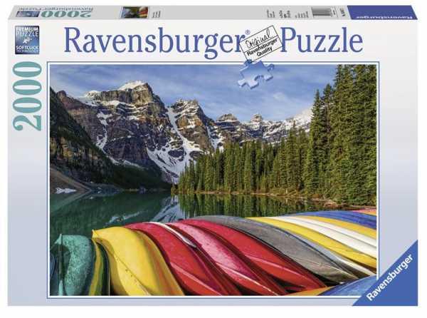 Ravensburger 16647 - Canoe, Puzzle 2000 Pezzi