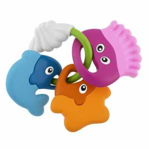 Chicco Baby Senses - Sea Creatures Teether - Rattles (Multicolour, Any Gender)