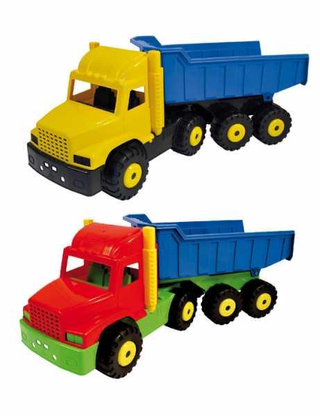 ADRIATIC- Camion Snodato Cm83 Kg15 173 Gioco In Plastica Estivo Estate Giocattolo 145, Multicolore, 8002936017307