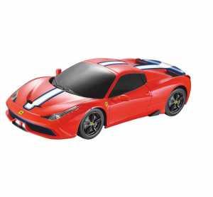 Mondo - Ferrari 458 Speciale Veicolo Radiocomandato, Rosso, Scala 1:24, 63284