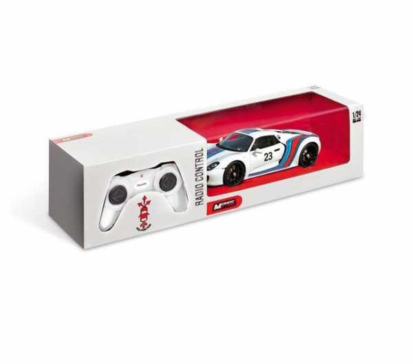 Mondo - Porsche 918 Racing, Bianco, Scala 1:24, 63288