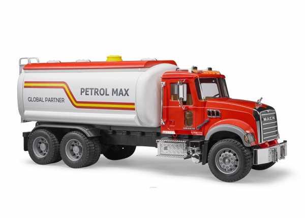 Bruder Spielwaren Camion Cisterna Granito Mack