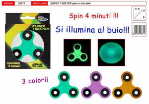 TWISTER SUPER GLOWING 4 MIN - Toys Garden (26671)