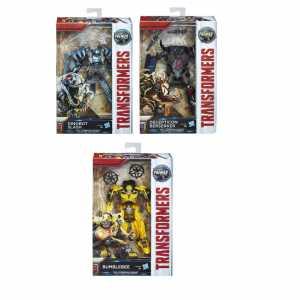 Transformers L'Ultimo Cavaliere Premier Edition Deluxe Personaggio Crosshairs