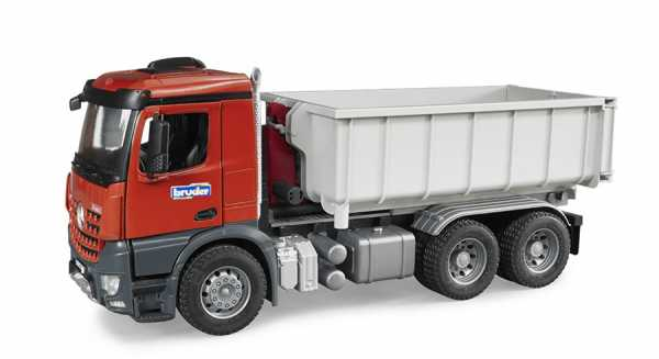 Bruder 3622 - MB AROCS Camion Container Ribaltabile