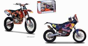 MOTO KTM 450 RALLY In Scala 1:18 - Mac Due (18-51073)