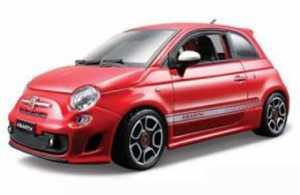 Bburago 18-22111 - Abarth 500 1:24, Auto In Miniatura, Colori Assortiti
