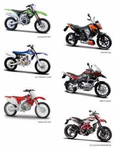 Macdue 31102 Moto Cross 1:12 Mod Ass