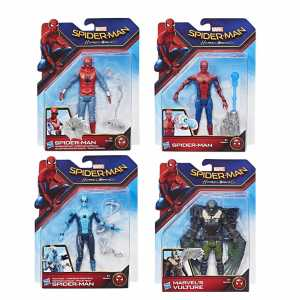FIGURE SPIDERMAN HOMEMADE SUIT 15CM