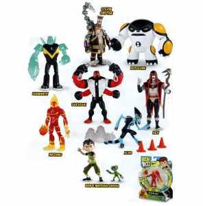 Giochi Preziosi BEN 10 Personaggi Base, Modelli Assortiti, 1 Pz.
