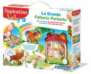 SAPIENTINO BABY FATTORIA PARLA - Clementoni (12038)