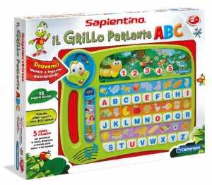 Clementoni 13264 - Sapientino Alfabetiere Grillo Abc