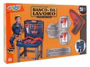 Globo 36448 - Banco Da Lavoro Con Trapano Elettrico