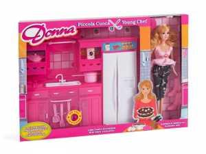 Donna 36532 - Fashion Doll Con Cucina