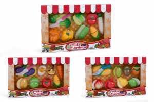 Globo Giocattoli GLOBO36900W 'Toy Verdura E Frutta Con Velcro E 3Accessori (Pezzi)