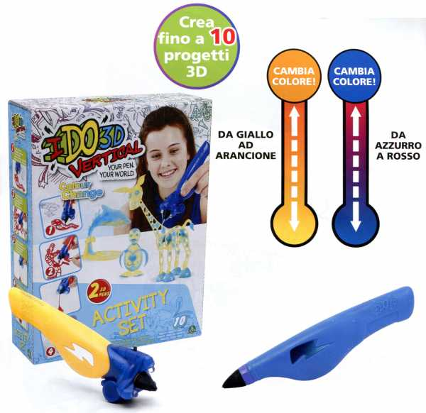 IDO 3D ACTIVITY SET CHANGE - Giocheria Internet (D3d03010)