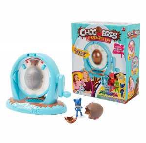 Giochi Preziosi - Chocoeggs La Fabbrica Delle Uova PJ Masks, Playset Per Creare Uova Di Cioccolato Con Sorpresa, Super Pigiamini