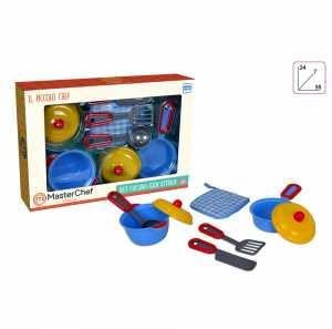Toys Garden Srl- Italia Pentolini Colorati MasterChef, Multicolore, 851034