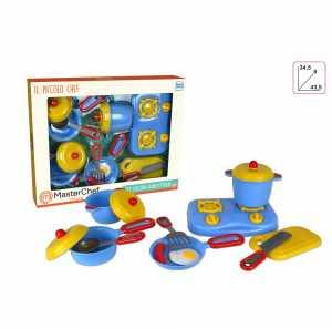 CUCINA MASTER CHEF FORNELLO PENTOLE Accessori - Toys Garden (90003)