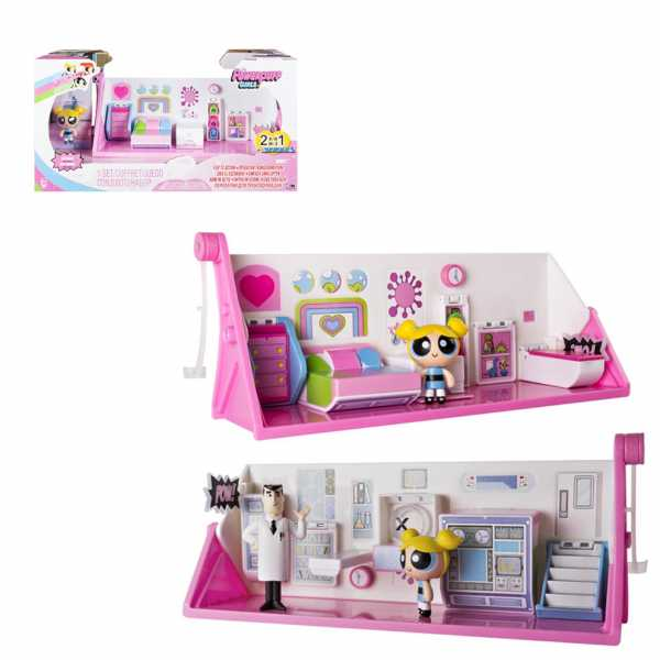 POWERPUFF GIRLS Playset Trasformabile 2 In 1, 6028023