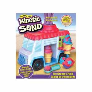 Kinetic Sand 6035805 - Playset Furgoncino Dei Gelati