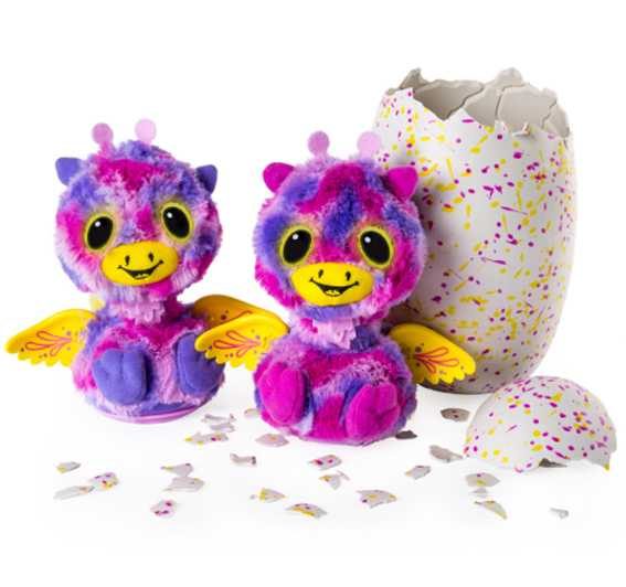 HATCHIMALS Surprise Giravens, Colore Rosa, 6037097