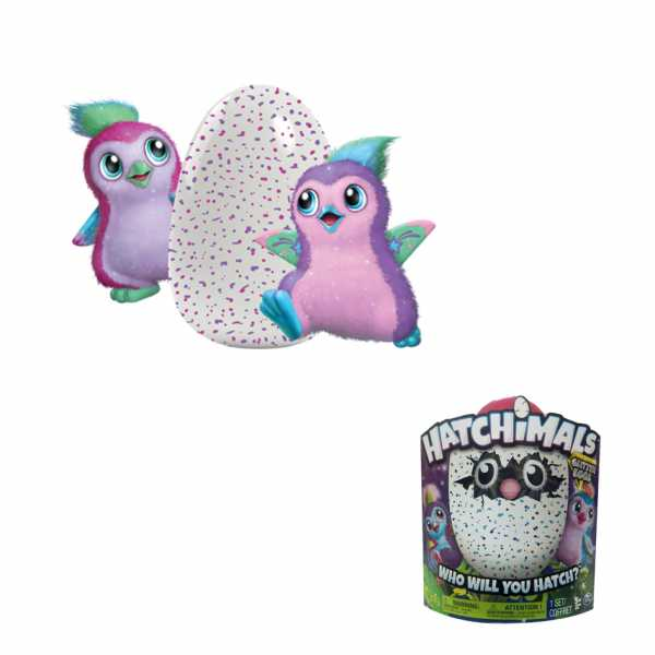 Hatchimals 6037399 - Hatchimals Pengualas Glitter, Colori Assortiti