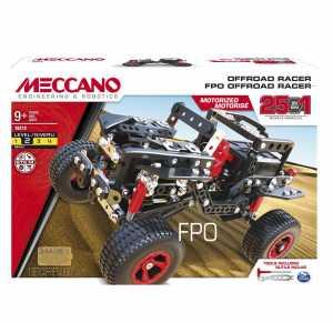 Meccano 6037616 - Multi Modello Da 25 - Veicolo Fuoristrada Motorizzato, 406 Pz.